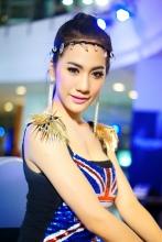 พริตตี้(Pretty) Bangkok Motorbike Festival 2013 @CTW